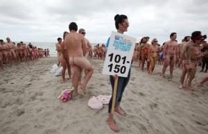 nøgenbadningrekord